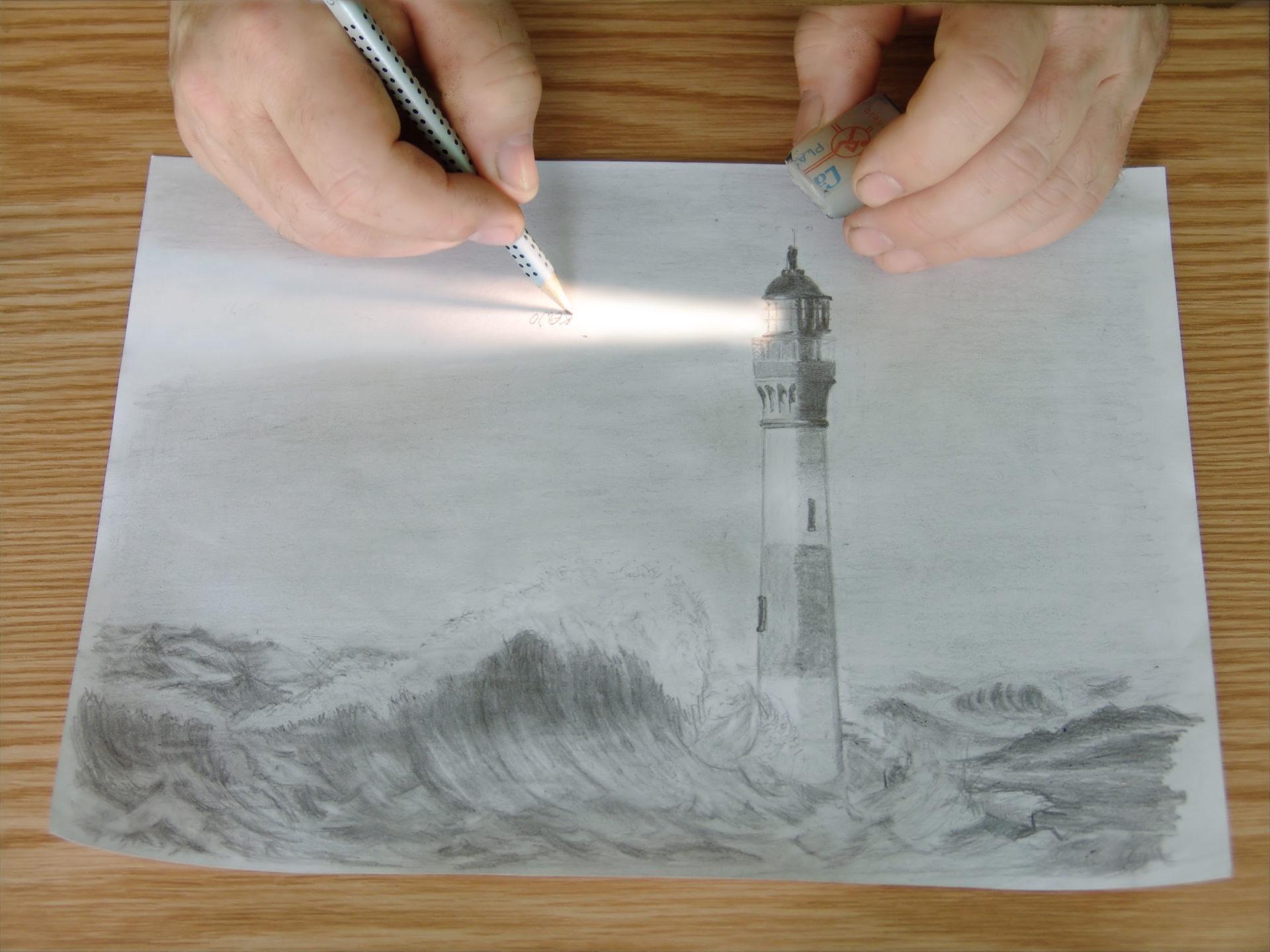 Der Leuchtturm und sein Licht